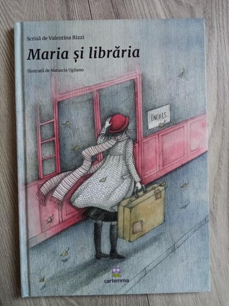 Carte rănită - Maria și librăria 0