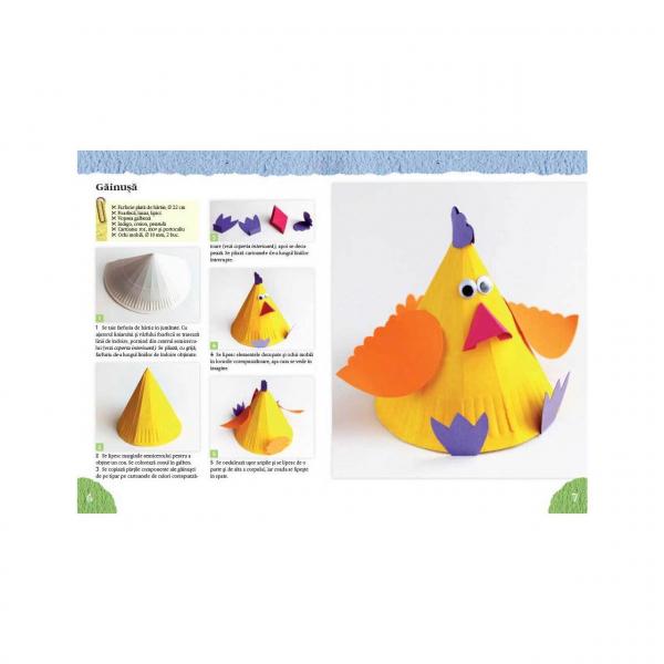 Figurine din farfurii de hârtie - Idei Creative Nr. 125 [1]