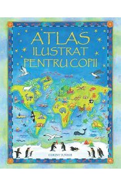Atlas ilustrat pentru copii (Usborne) 0