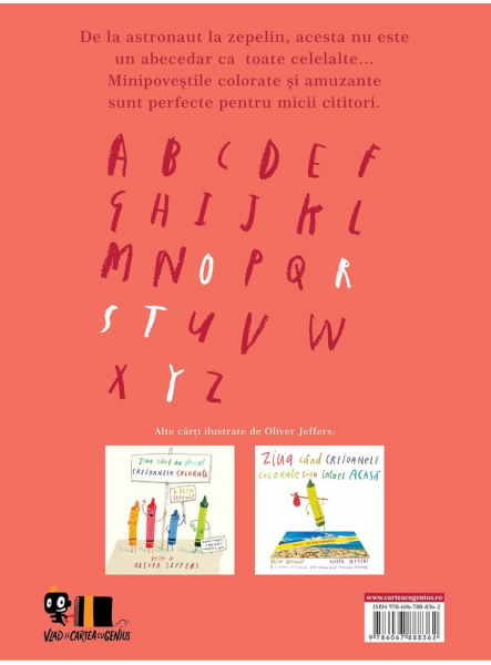 A fost odata un alfabet Minipovesti pentru (aproape) toate literele 1