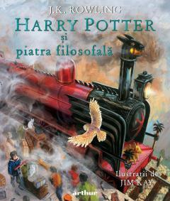 Harry Potter si piatra filosofala-ed ilustrata 0
