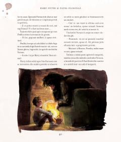 Harry Potter si piatra filosofala-ed ilustrata 1