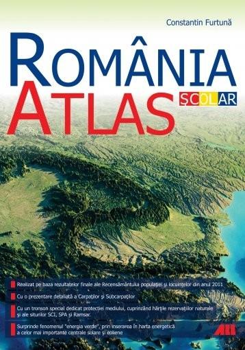 România. Atlas școlar (ediția 2015) 0