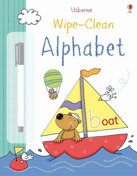 Wipe-clean alphabet 0