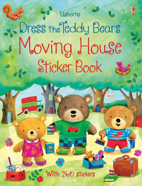 Dress the Teddy Bears Moving House Sticker Book 0