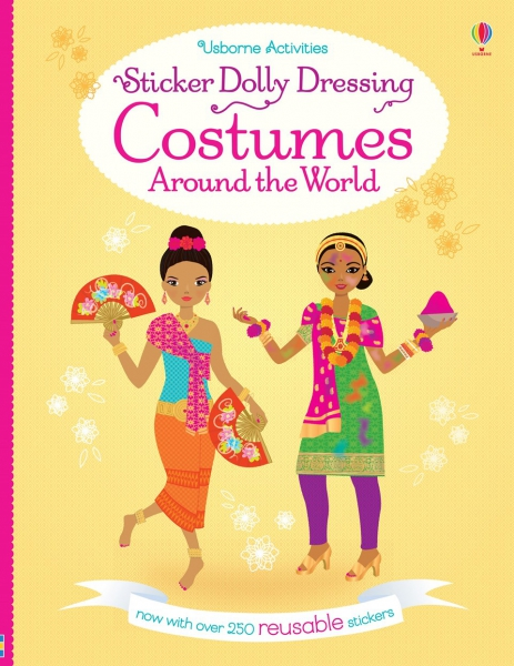 Sticker Dolly Dressing - Costumes around the world 0