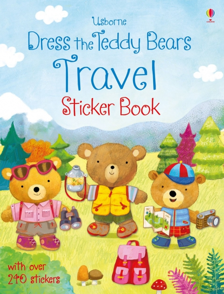Dress the Teddy Bears Travel Sticker Book 0