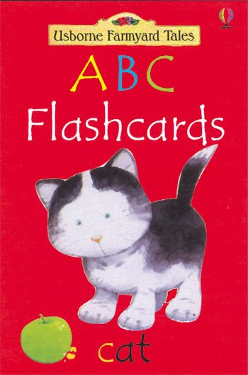 Farmyard Tales ABC flashcards 0