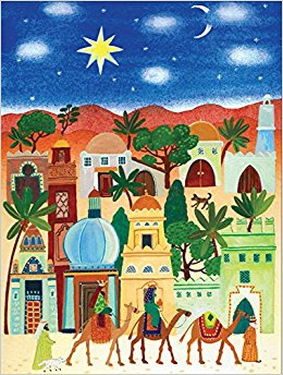 Little Town of Bethlehem Boxed Holiday Full Notecards 0