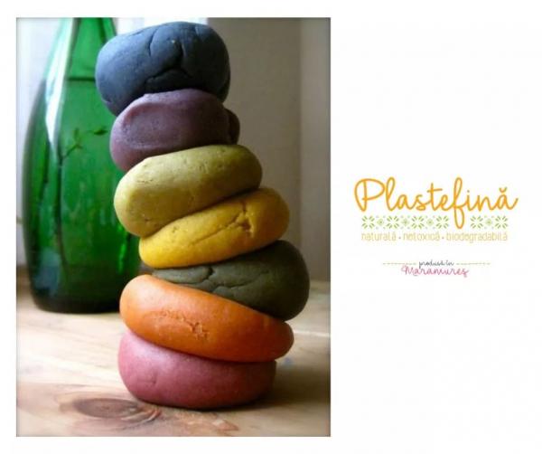 Plastelină naturală - pachet 10 culori 1