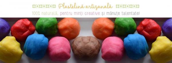 Plastelină naturală - pachet 10 culori 2