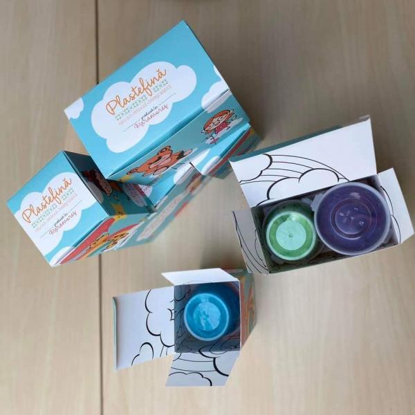 Plastelină naturală - pachet 10 culori 4