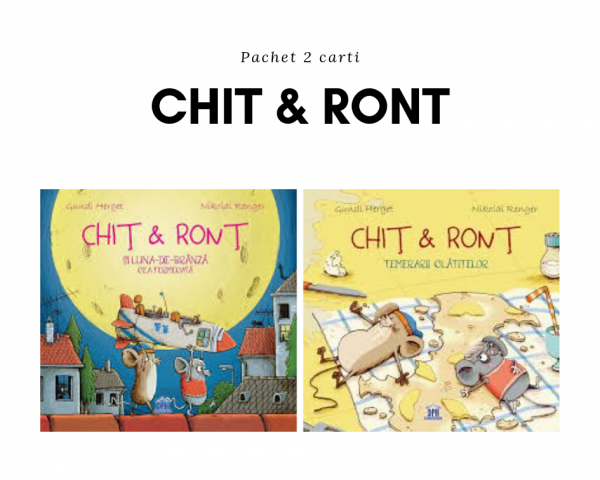 Pachet 2 carti Chit & Ront 0