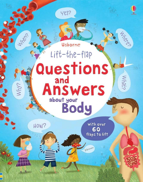 Lift-the-flap Questions and Answers about your Body 0