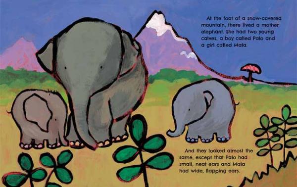 The Elephants' Ears 1