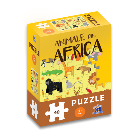 Animale din Africa: Puzzle [0]