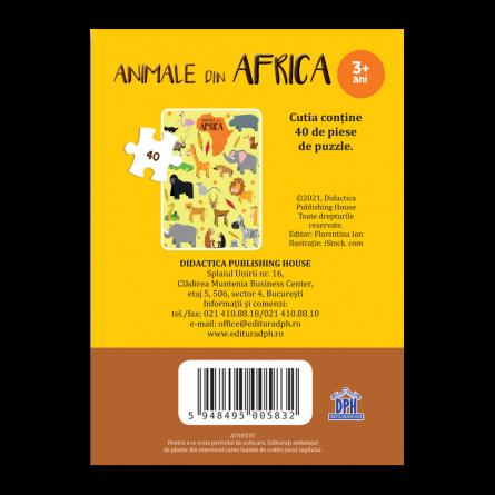 Animale din Africa: Puzzle [1]