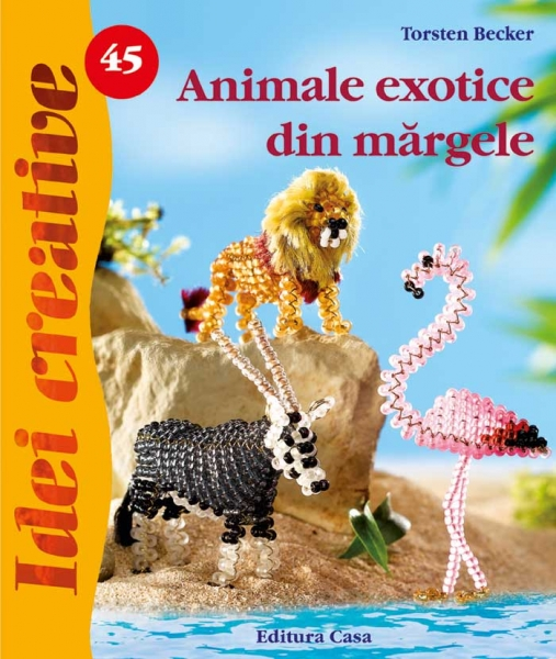 Animale exotice din mărgele - Idei Creative 45 0