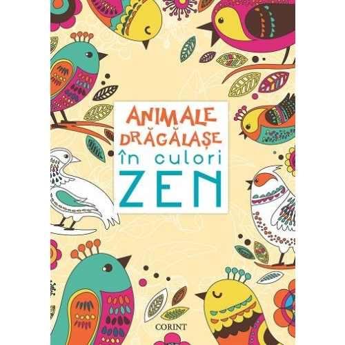 Animale drăgălaşe în culori ZEN 0