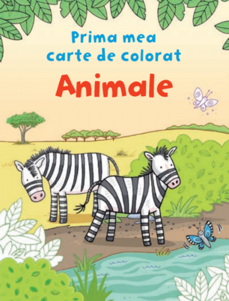 Animale. Prima mea carte de colorat 0