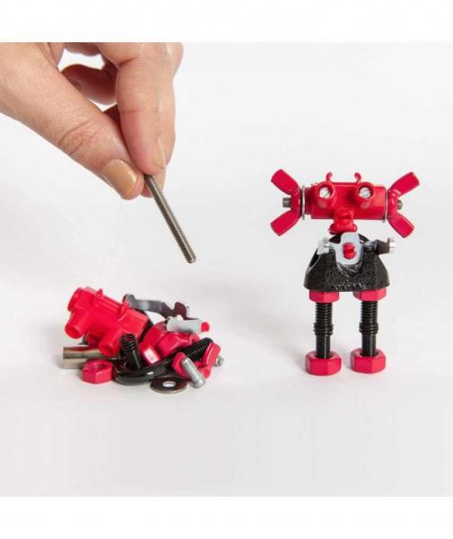 ArtBit - 3 În 1 Character Kit The OFFBITS - Set De Construit Cu Șuruburi Și Piulițe 2