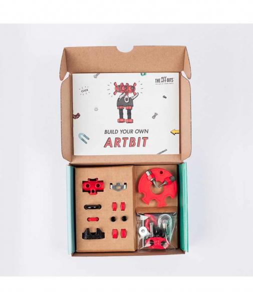 ArtBit - 3 În 1 Character Kit The OFFBITS - Set De Construit Cu Șuruburi Și Piulițe 1