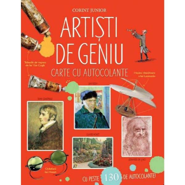 Artisti de geniu - Carte cu autocolante [0]