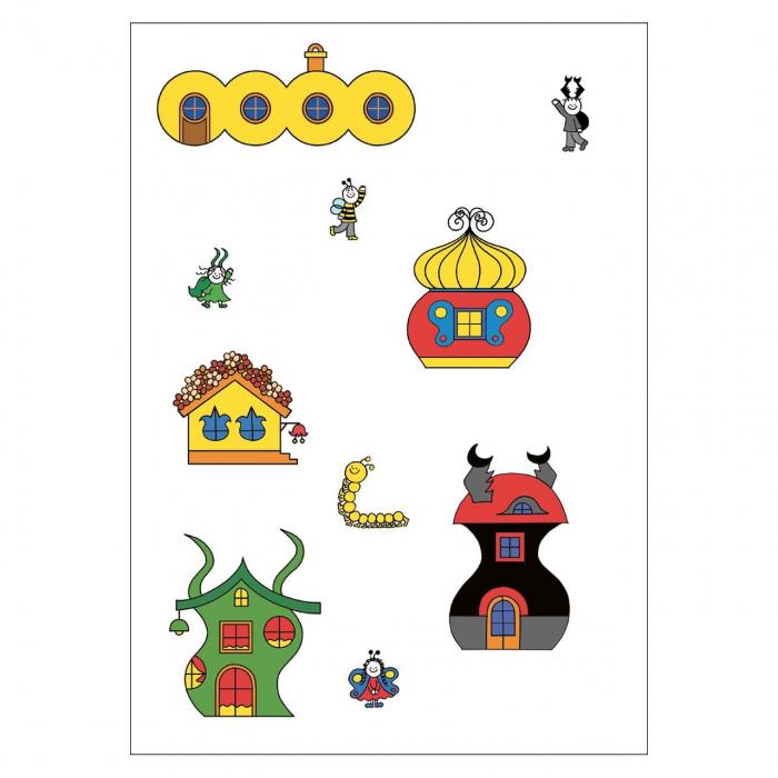 Bobiță și Buburuză - Carte cu activități, jocuri și povești nr. 1 [1]