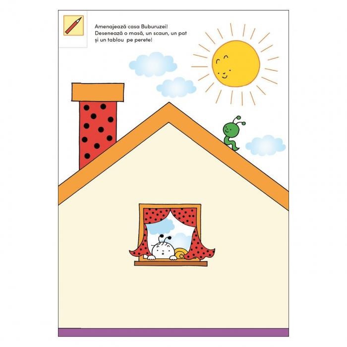 Bobiță și Buburuză - Carte cu activități, jocuri și povești nr. 2 [4]