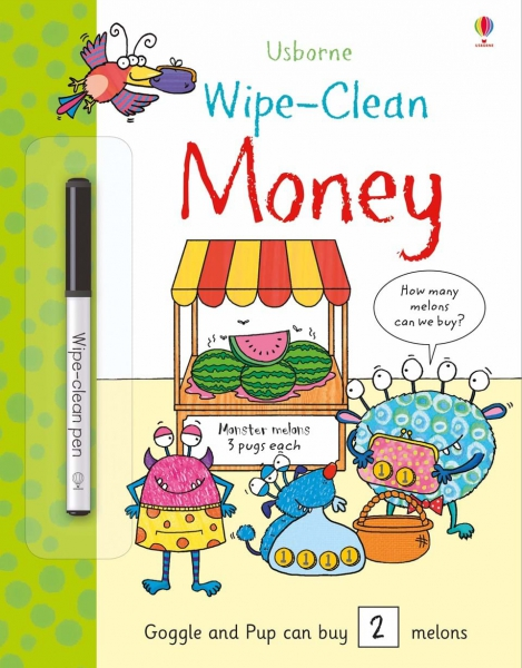 Wipe-clean money 0