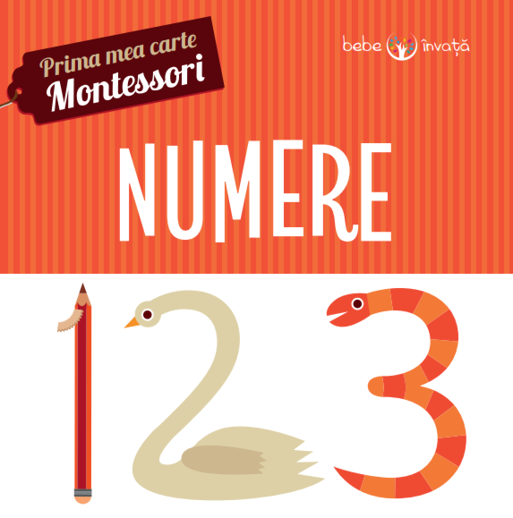 Numere. Prima mea carte Montessori 0