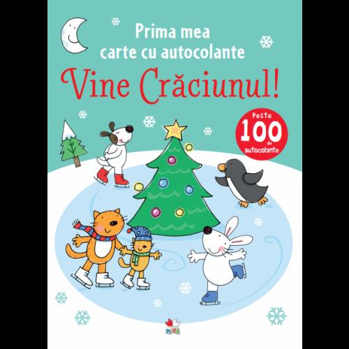 Vine Crăciunul! Prima mea carte cu autocolante. 0