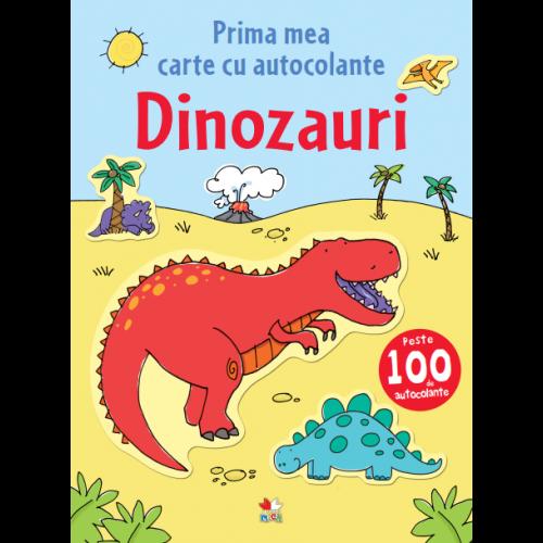 Dinozauri. Prima mea carte cu autocolante 0