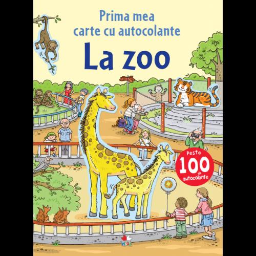 La zoo. Prima mea carte cu autocolante. 0