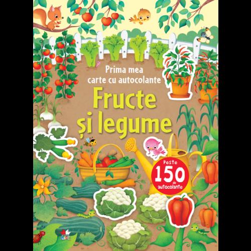 Fructe și legume. Prima mea carte cu autocolante. 0