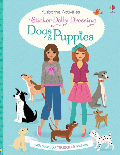 Sticker dolly dressing - Dogs and puppies 0