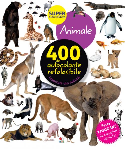 Animale. 400 de autocolante refolosibile [0]