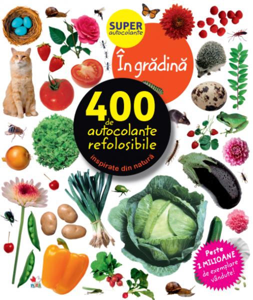 În grădină. 400 de autocolante refolosibile 0