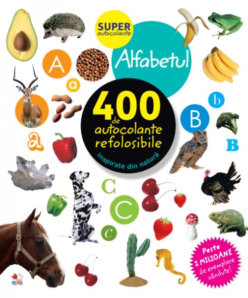 Alfabetul. 400 de autocolante refolosibile 0