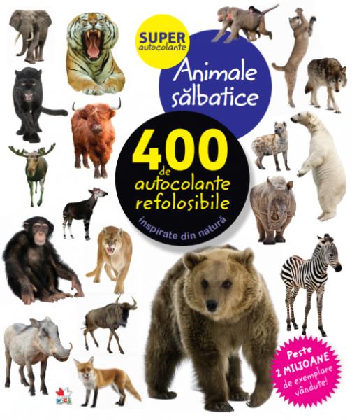 Animale sălbatice. 400 de autocolante refolosibile 0