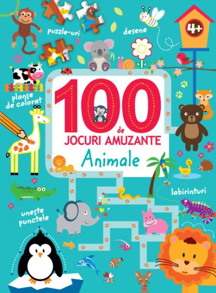 100 de jocuri amuzante. Animale 0