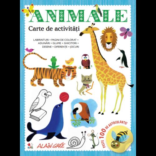 Animale. Carte de activități 0