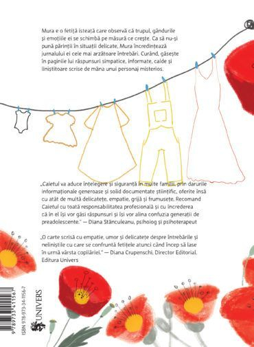 Caietul, roman mic pentru fetițele care cresc mari 4