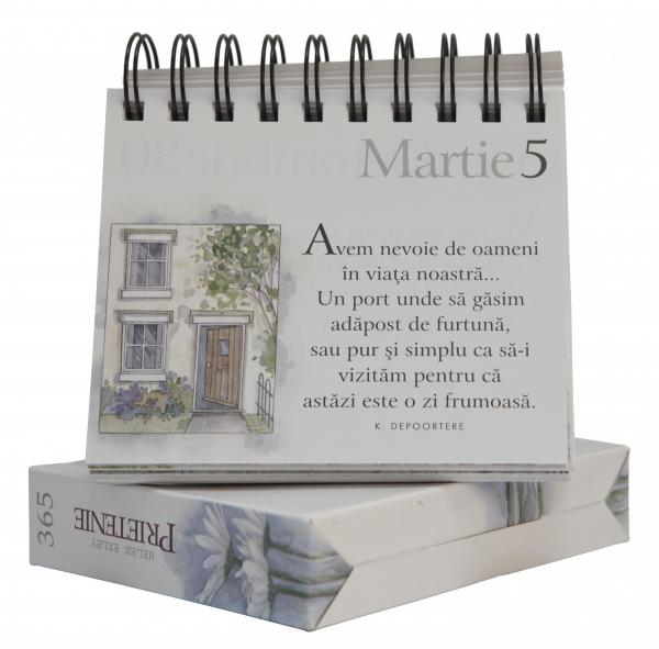 """Calendarul """"365 de zile: Prietenie"""" 1"""
