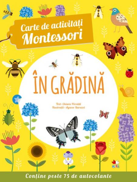 Carte de activitati Montessori. In gradina 0
