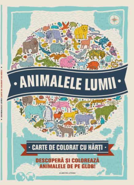 Animalele lumii. Carte de colorat 0