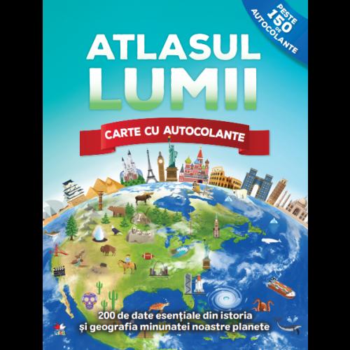 Atlasul lumii. Carte cu autocolante 0