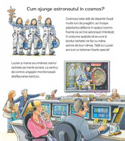 Ce face un astronaut? 1