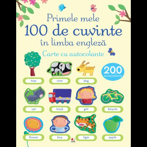 Primele mele 100 de cuvinte în limba engleză. Carte cu autocolante 0