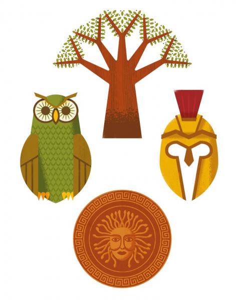 Cine este? Ce este? Zei și eroi din mitologia greacă 4